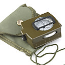 Professional Pocket Geology Compass with Strap & Carrying Pouch