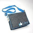 DIY Like Patterned Felt Shoulder Bag