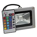 Luces de Alta Densidad Control Remoto 10 W 1 LED Integrado LM RGB / Color Cambiante AC 85-265 V