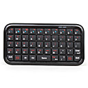 Mini Bluetooth trådløs qwerty tastatur (svart)