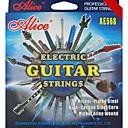 alice - (ae568-sl) nickelé cordes en acier pour guitare électrique (009-042)
