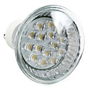 1W GU10 LED-spotlights MR16 15 DIP-LED 75 lm Varmvit AC 220-240 V