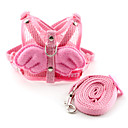 Dog Leashes / Harnesses Pink Textile
