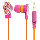 kanen gráfico colorido fone de ouvido intra-auricular magnético