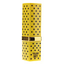 Yellow Dot Lipstick Shape Butan Lighter