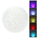 Neuheit Ball Style Colorful Light Crystal LED-Nachtlicht Lampe (3xLR44)