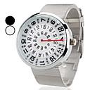 Buy Men's Watch Dress Creative Turntable Design Wrist Cool Unique Fashion