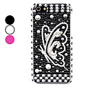 Butterfly Pattern Hard Case for iPhone 5/5S (Assorted Colors)