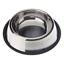 Buy Stainless Steel Anti-Skidding Pet Food Bowl Dogs Cats(XS-XXL)