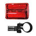 3-LED de bicicleta Segurança Luz da cauda (Vermelho)