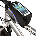Waterdicht / Reflecterende Strip - Fietsframetas / Cell Phone Bag (Rood / Blauw / Groen , Polyester / PVC) Iphone 4/5/5S/5C
