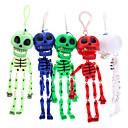 Skeleton Schädel Schlüsselanhänger (zufällige Farbe)