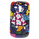 Samsung Galaxy S3 Mini I8190 için Kız Desen Hard Case