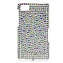 Kristall Pattern Hard Case mit Strass für Blackberry Z10