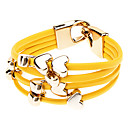 PU Bracelet Multilayer Heart Bracelet