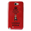Gangnam Style Hard Case for Samsung Galaxy Note 2 N7100