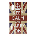 Crown UK flaggmönster Hard Case för LG Optimus L5 E612