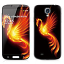 Monster Pattern Front and Back Protector Stickers for Samsung Galaxy S4 I9500