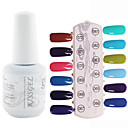 yemannvyou®1pcs uv lentejuelas esmalte de uñas de gel de color no.61-72 remojo-off (15 ml, colores surtidos)