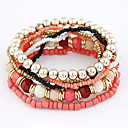 Women's Bohemian Style Multi-row Beaded Bracelet(Assorted Colors)