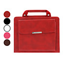 Briefcase Design Folio Stand Leather Case for iPad 2/3/4 (60/45/30 Degree Slope,Optional Colors)