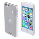 3d azul claro padrão de lótus volta pc tampa traseira dura para o iPhone 5 / 5s
