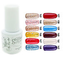 yemannvyou®sequins de color de uñas de gel UV no.157-168 polaco (5 ml, colores surtidos)
