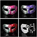 Hard Masquerade Carved Retro Halloween maska (Izabrane boja)
