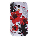 Safflower Pattern TPU Hard Case for Samsung Galaxy S4 Mini I9190