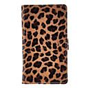 Leopard Print completa caso protetor corporal para Sony S39h ((Xperia C)