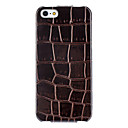 Squares Pattern Flip Case with Interior Flocking Protection for iPhone 5/5S (Optional Colors)