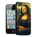 mona lisa mønster 3d effekt sak for iphone5