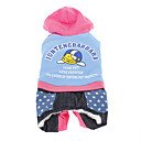 Cute Penguin Warm Four-legged Pants with Hoodie for Pets Dogs (Assorted Colors, Sizes)