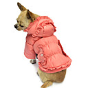 Elegant Draped Winter Warm Coat with Hoodies for Pets Dogs (Assorted Sizes)