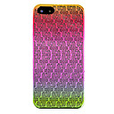 Embossment Rhombus Totem Raindrop Effect Back Case for iPhone 5/5S