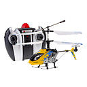 DFD F106 4CH RC Helicopter with Gyro & Light (Yellow)