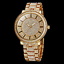Women's Watch Fashion Full Diamante Round Dial Steel Band