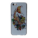 Mermaid Pattern Plastic Hard Case for iPhone 5C