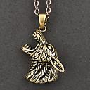 Kepala Copper Gothic Lolita Necklace Wolf