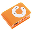 Buy TF Card Reader MP3 Player Bag Shape Clip Orange