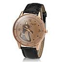 Buy Women's Cat Pattern Khaki Dial PU Band Quartz Wrist Watch (Assorted Colors) Cool Watches Unique Fashion