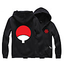 Buy Inspired Naruto Sasuke Uchiha Anime Cosplay Costumes Hoodies Print Black Long Sleeve Top