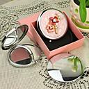 Personalizirani poklon Cvjetna Style Pink Chrome Compact Mirror