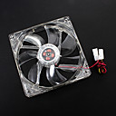 12 cm 12005 + CP LED Fan LYF LY-1225M12S DC 12V 0.36A
