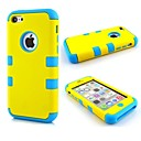 Fresh Style 3 in 1 Composite PC Full Body Case for iPhone 5C(Assorted Colors)
