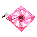 12CM 12005 + CP LED Fan LYF LY-1225M12S DC 12V 0.36A
