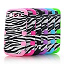 Black White Zebra Hybrid Impact Case Cover Full Body for Samsung Galaxy SIII S3 i9300