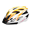FJQXZ EPS+PC Orange and White Integrally-molded Cycling Helmet(18 Vents)