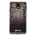 Gradient Ramp Brown Leopard Skin Pattern Soft Anti-Shock Back Case Cover for Samsung Galaxy Note3 N9000