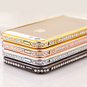 Elegant Decorated with Diamond Frame for iPhone 4/4S(Assorted Color)
